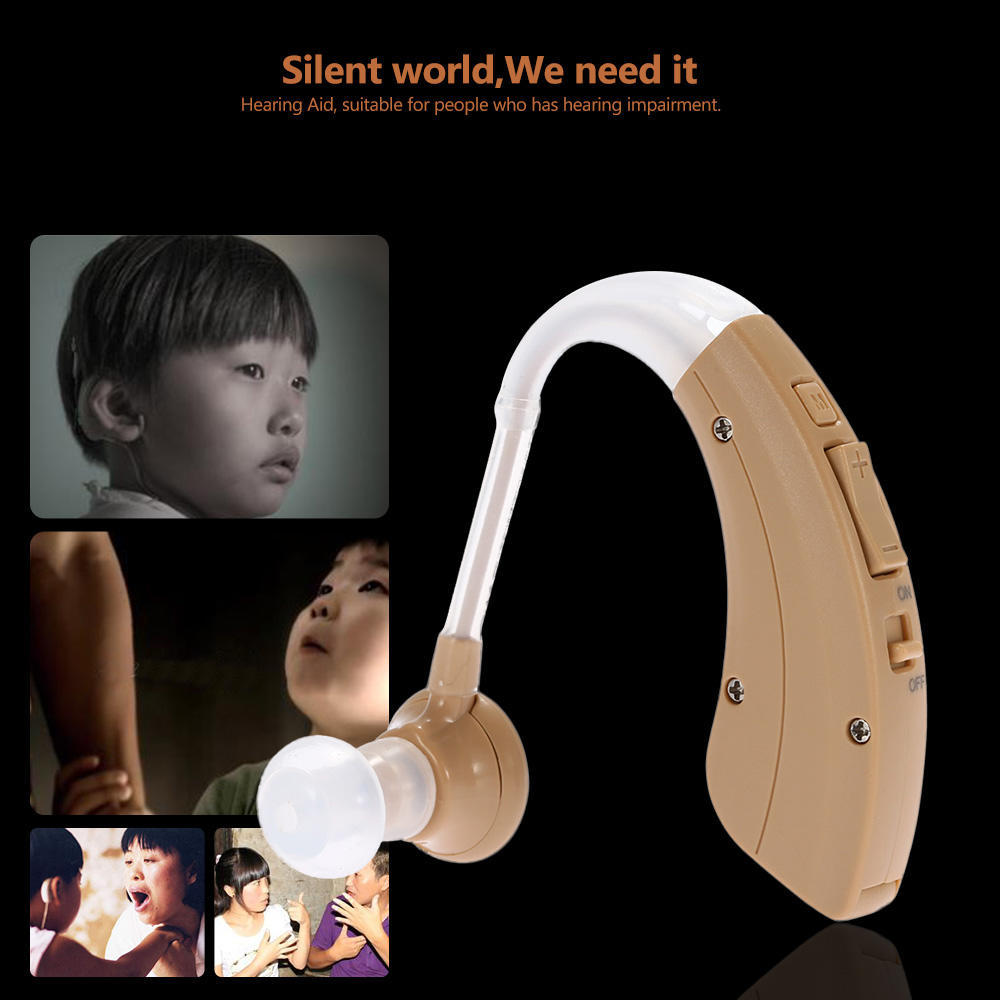 Health Ear Sound Amplifier Hearing Assistance Aid Volume 220 Digital Tone Adjustable Behind The 2 Of 13