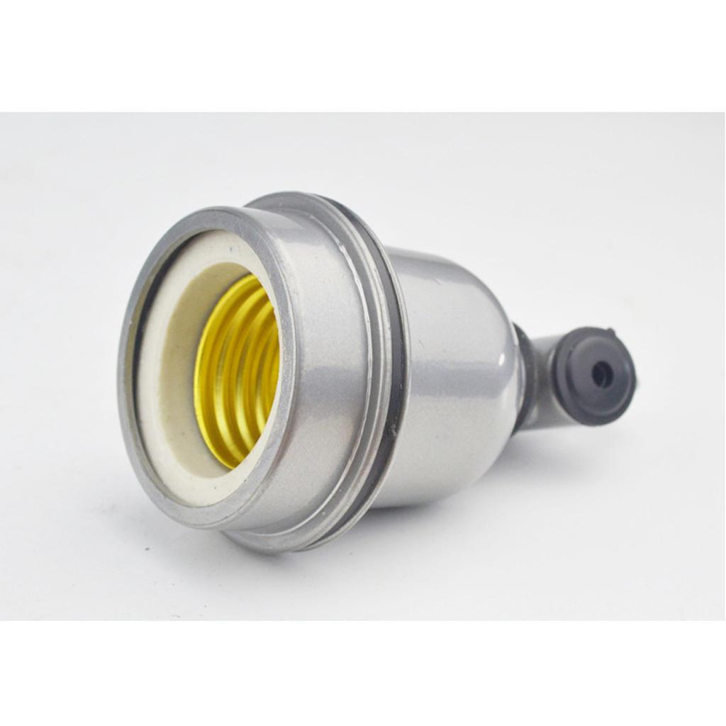 e27 wasserdichte Aluminiumbirne Lampenheizungshalter Lampenfassung