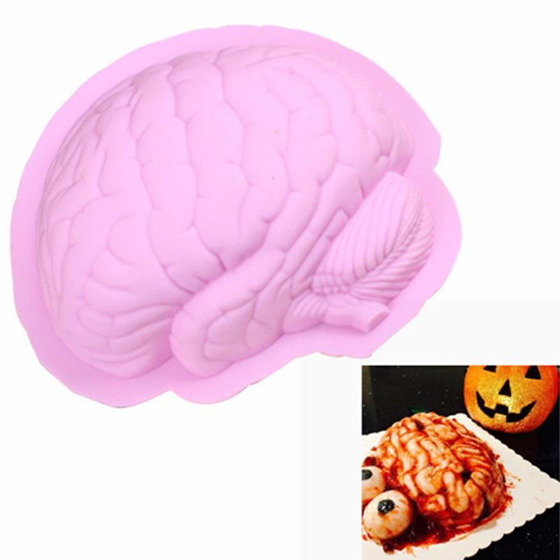 Human Finger Silicone Mold Halloween DIY Cake Decorating Tools Cupcake Mould