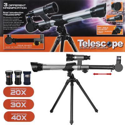 Powerful Telescope Astronomical Tripod Stargazing Educational Kids Toy 20//30//40x