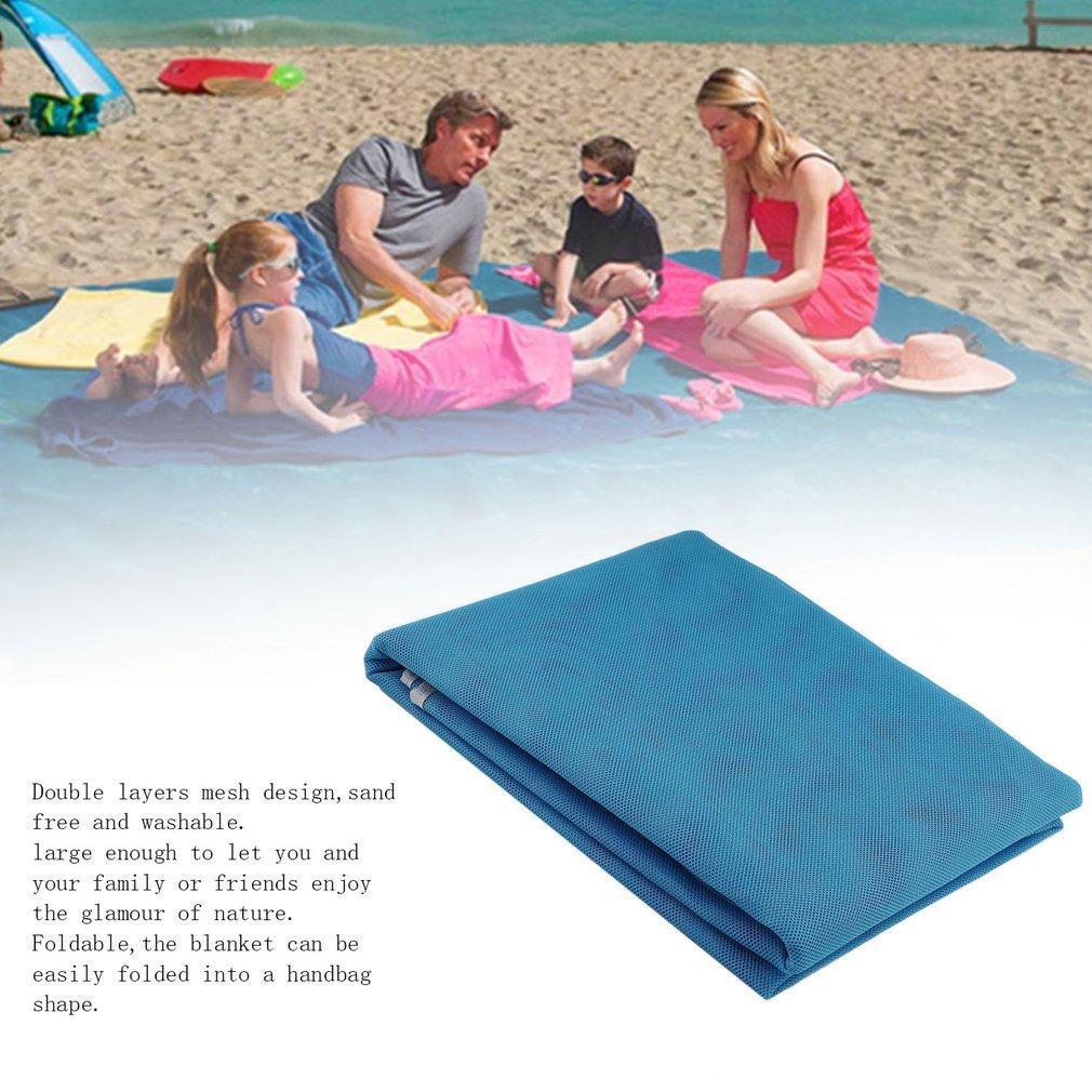 Camping Mat Camping & Hiking Sand Free Waterproof Beach Mat Fun Camping Mat Outdoor Rug Picnic Mattress Magic Pad