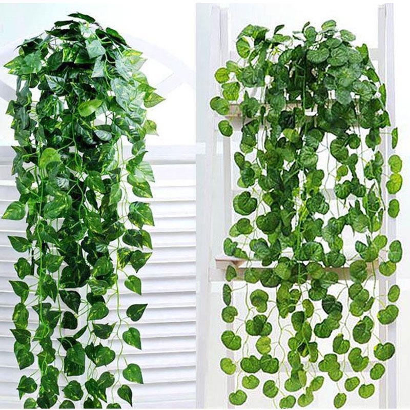 Artifical Lover Tears Plant Leaf Foliage Vine Flower Wall Hanging Decor Hot Item