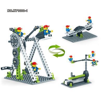 De 1000 Construction Assembler Series 3in1 Principe Jouets 1 Mécanique Éducatifs Blocs Technic Enfants UVGzpLSMq
