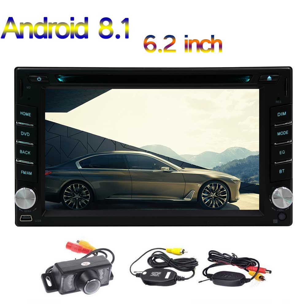 Android 8.1 Autoradio mit Navi Bluetooth Navigation Doppel 2DIN USB DAB MP3 MP4