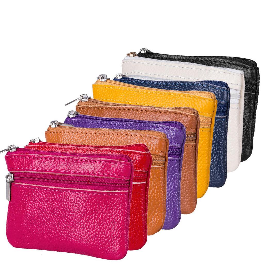 Women Men Leather Coin Purse Wallet Clutch Zipper Small Change Soft Bag Mini Bag Buy At A Low Prices On Joom E Commerce Platform