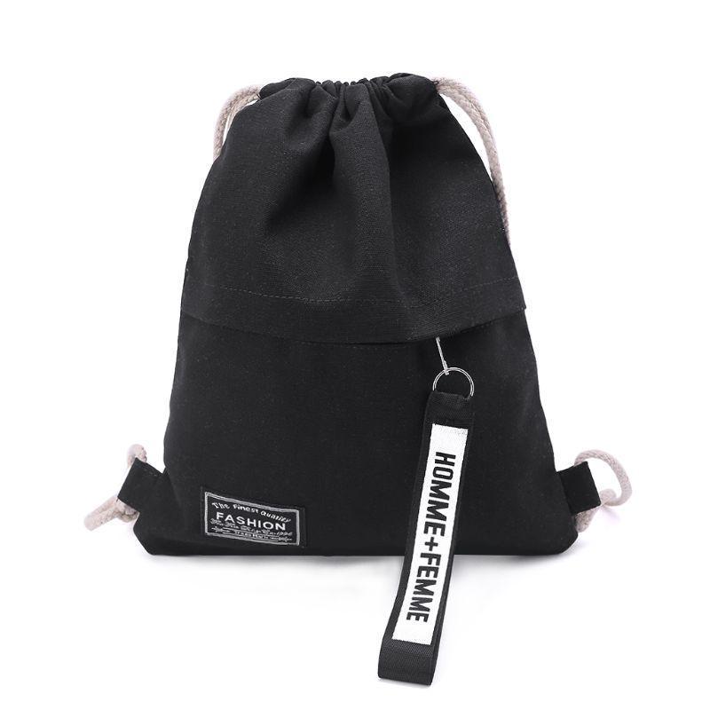 GymSack Drawstring Bag Sackpack Rose Skull Sport Cinch Pack Simple Bundle Pocke Backpack For Men Women