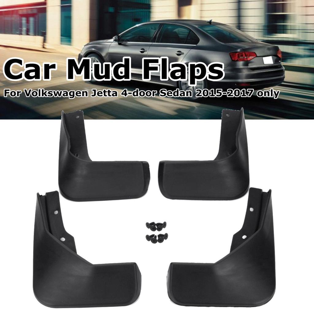 New 4Pcs Mudflaps Mudguards For Volkswagen Jetta 2015-2017 Splash Guards Sedan