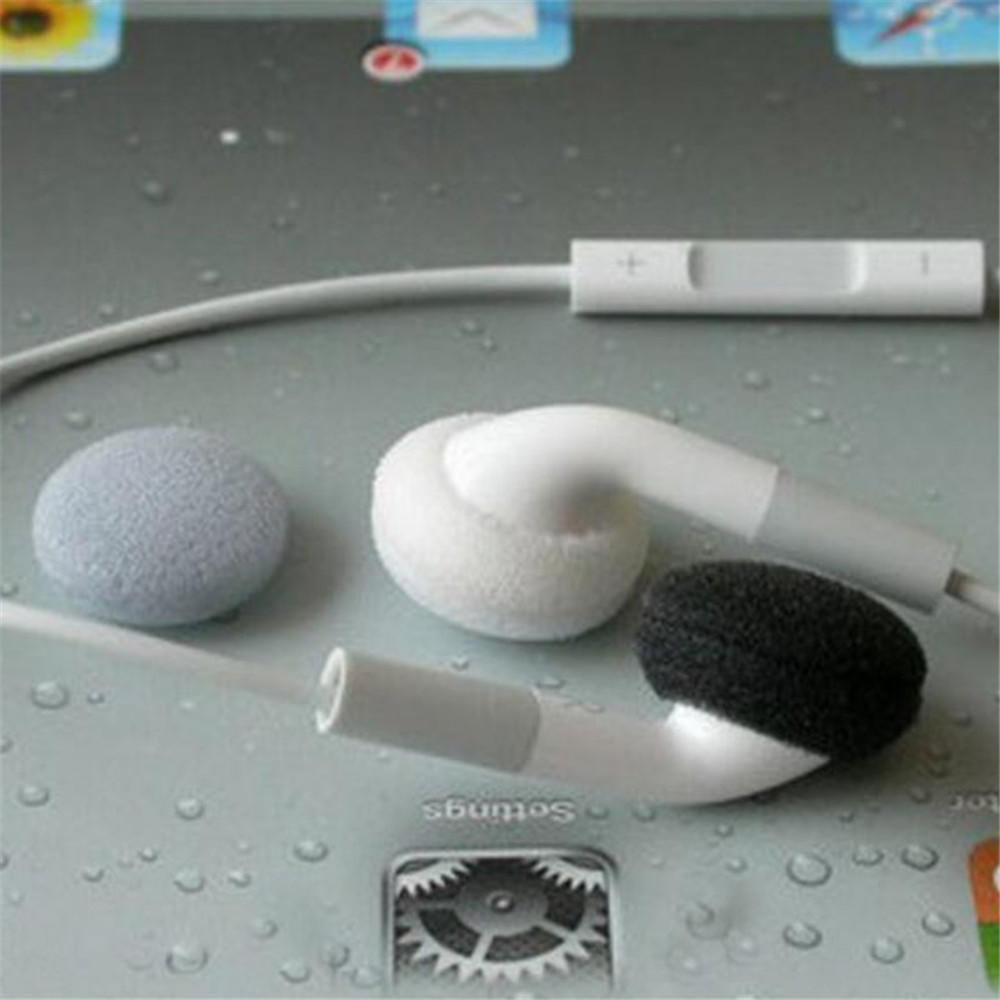 Tips For Earphone MP3 MP4 15mm Headphone Ear Pads Replacement Soft Foam Earbud