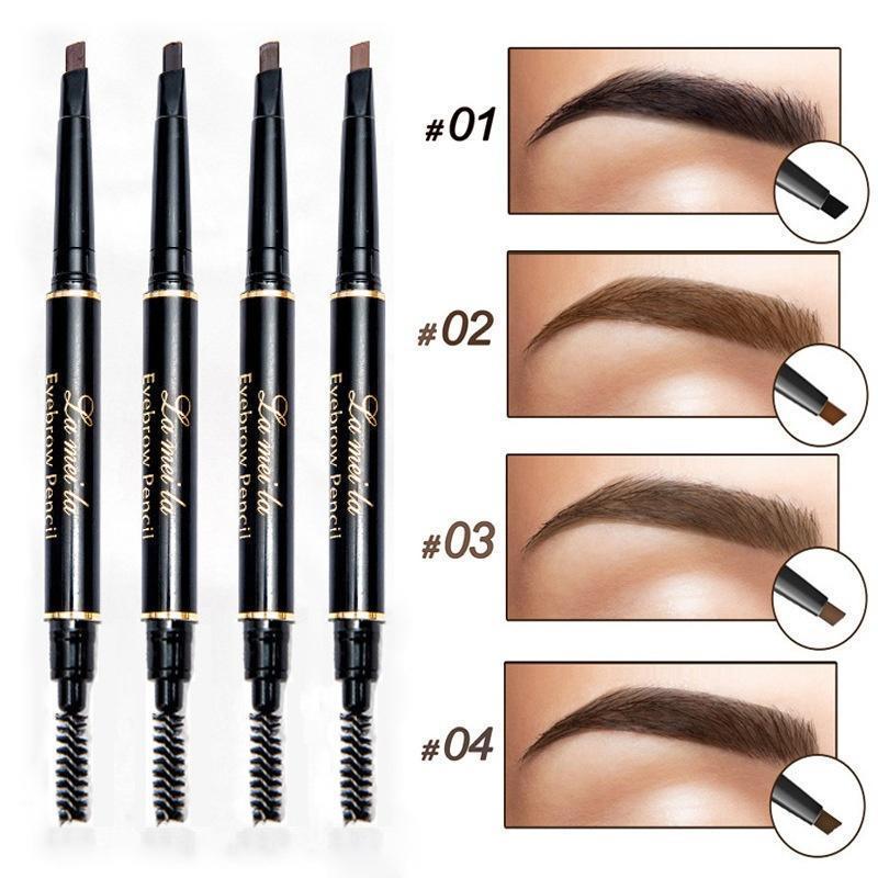 Карандаш для бровей с эффектом тату fc32003 portable 32 in 1 cosmetic makeup brushes set black