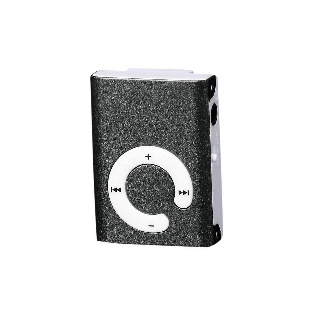 新款铁夹子插卡MP3 背夹无屏小书本MP3播放器 C型按键