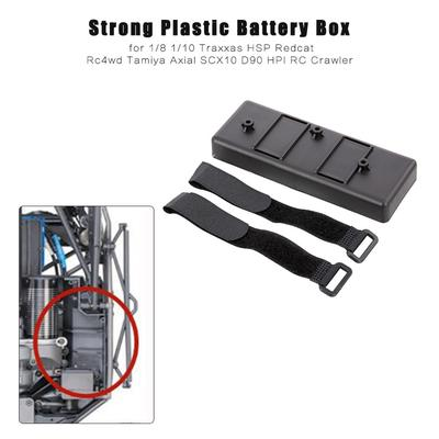 Plastic Tray Case Battery Box Bracket for 1//10 1//8 RC Axial SCX10 Traxxas HSP