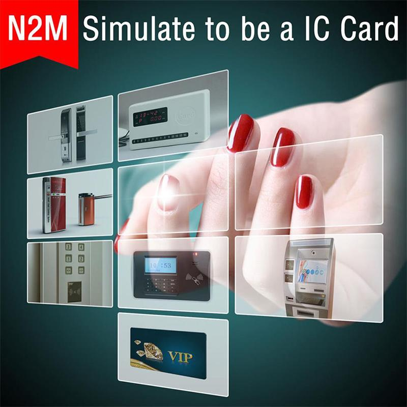 Nail Film Stickers Smart Card Nail Stickers IC Card Wearable NFC Transparent