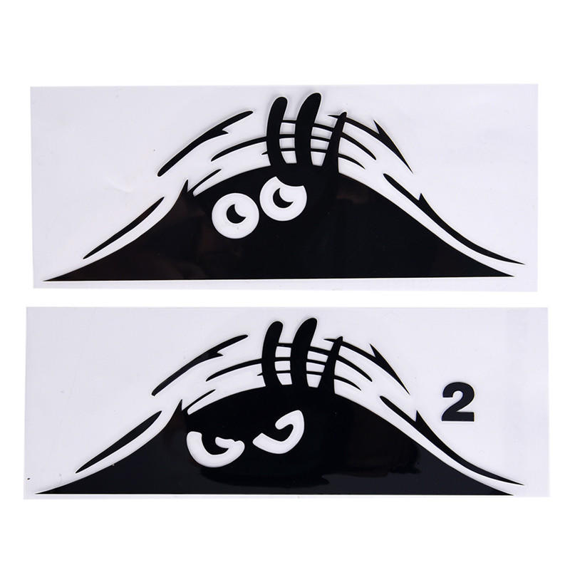 Angry Eyes Car Decal Vinyl Sticker For Bumper Or Window Or Panel