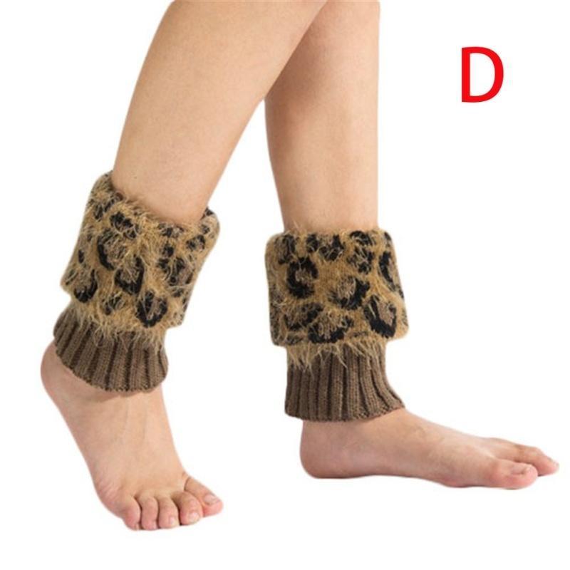 1pair arranque tapa pierna caliente manga corta lana polainas ...