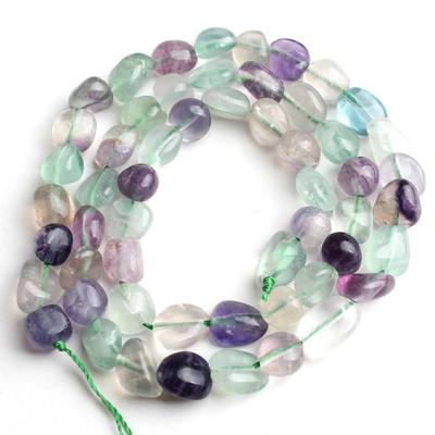 Lava Beads 8mm Natural Lilac Purple 1 Strand of Approx 47 Pieces