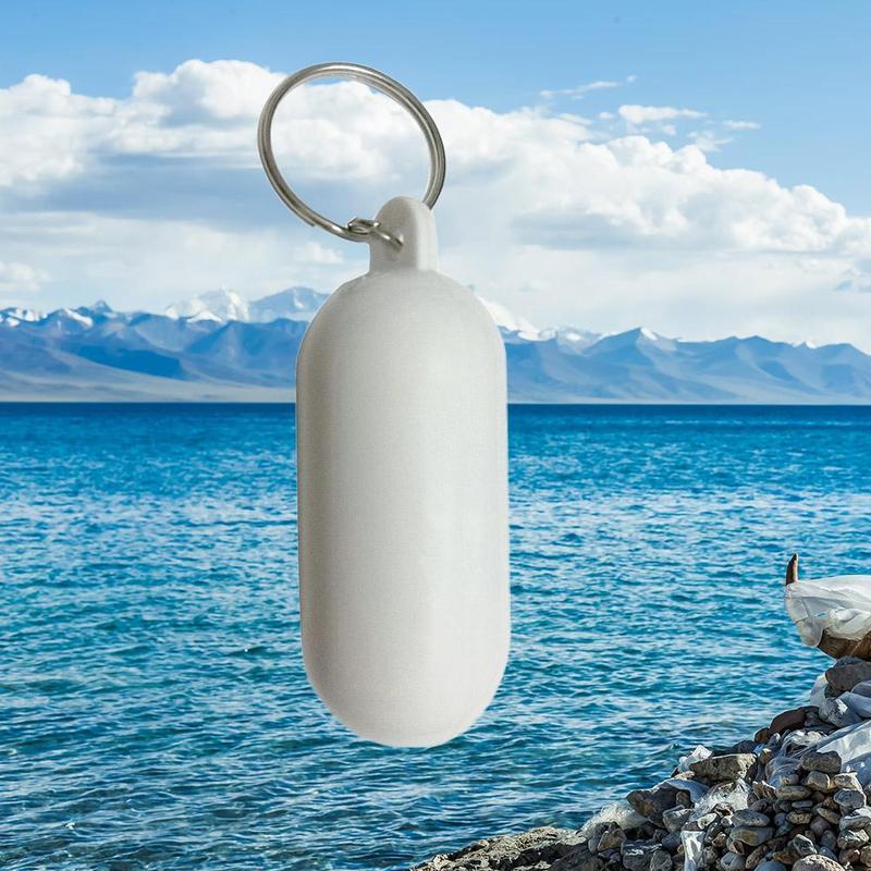 Water Floating Keychain Sailing Fishing Keyring Key Pendant Pool Parts