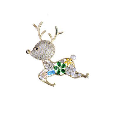 Cute Deer Brooches Pins