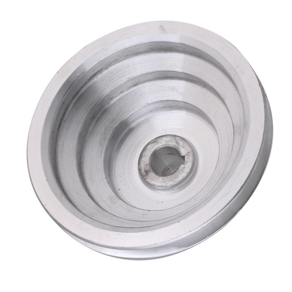 Aluminum 16mm A Type 5 Step Pulley V-Belt Pagoda Pulley Belt for Lathe