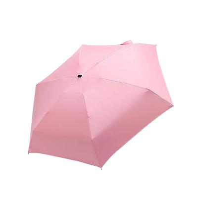 XIANGNAIZUI Chic Floral Anti-UV Foldable Umbrellas Sun Compact Women Female Ladies Lady Windproof Rain Lovely Flower Candy Colorful Umbrella Color : White