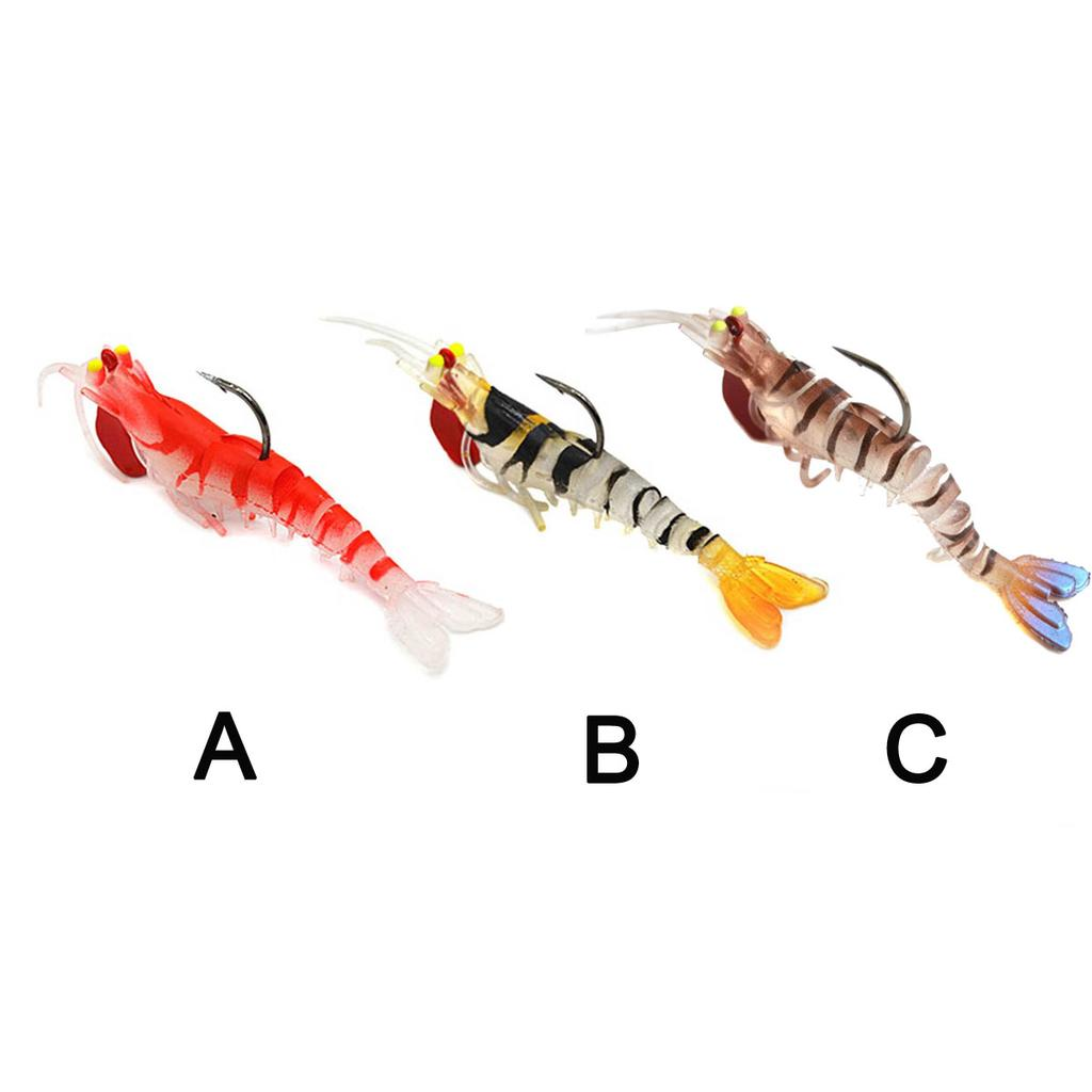 6pcs Floating Soft Duck Lure 21g Topwater Plastic Bass Bait Fishing Tackle