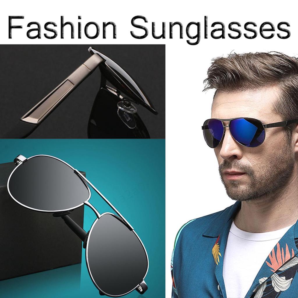Polarized Mens Sunglasses Pilot Outdoor Driving Fishing Eyewear Shades Sports