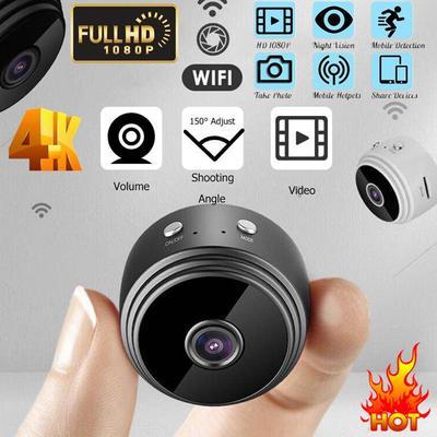 1080P HD IP Mini Camera Security Remote Control Video Cameras Wifi Surveillance Camera Hid Den Camera
