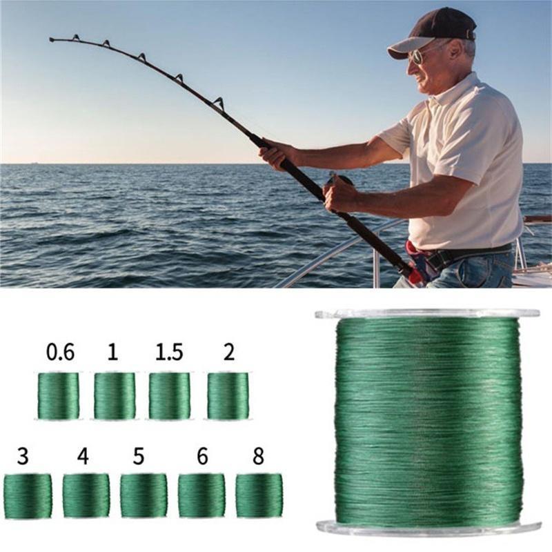 PE Sea Fishing Line 100M 300M 500M 1000M 4 Strands Dyneema Extreme Braid Strong