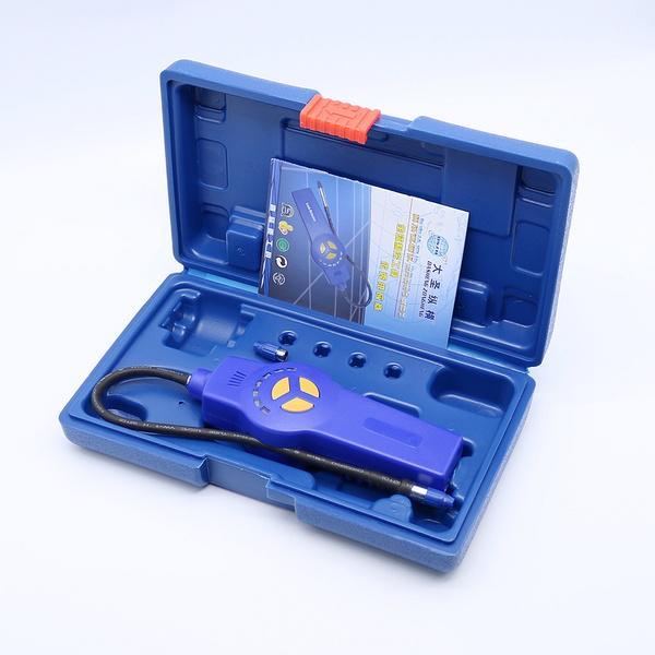 Gas detector gas leak detector Freon gas analyzer CFC HFC Halogen Gas Refrigeran