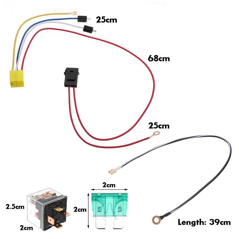 Universal Car Truck Train Dual Tone, Car Air Horn Wiring Diagram