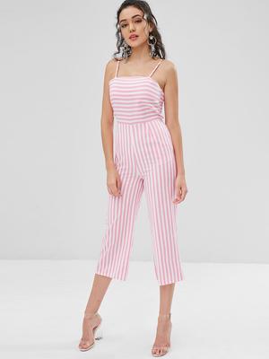 a515889427 Lick Lip Home Suit Shorts V Collar Corset Women Black White Satin Tie Wave  Pajamas Set. -94%. Price  16 Price  263. Striped Wide Leg Jumpsuit