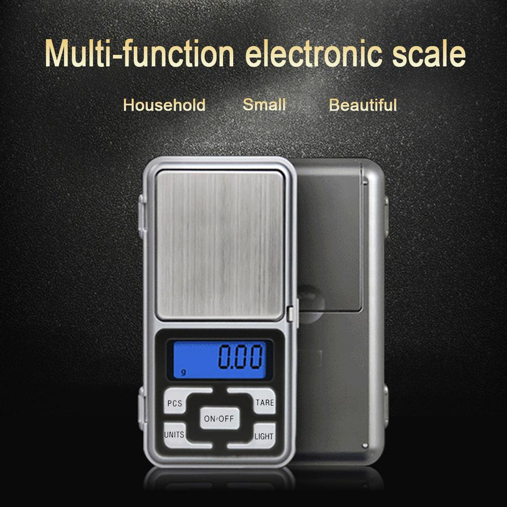 LCD Digital Turntable Stylus Force Gauge Scale 0.01g with 5g Calibration Weight Electronic Blance with Blue Backlight