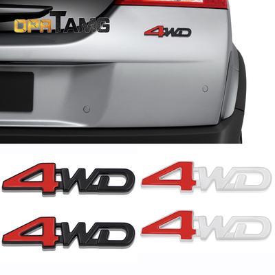Car Accessories Side Emblem 4WD Logo Rear Badge Fender Sticker For JEEP