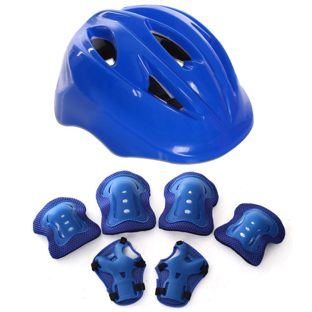 7x Children/'s Skateboarding Bicycle Helmet Knee Elbow Pads Protectors Protection