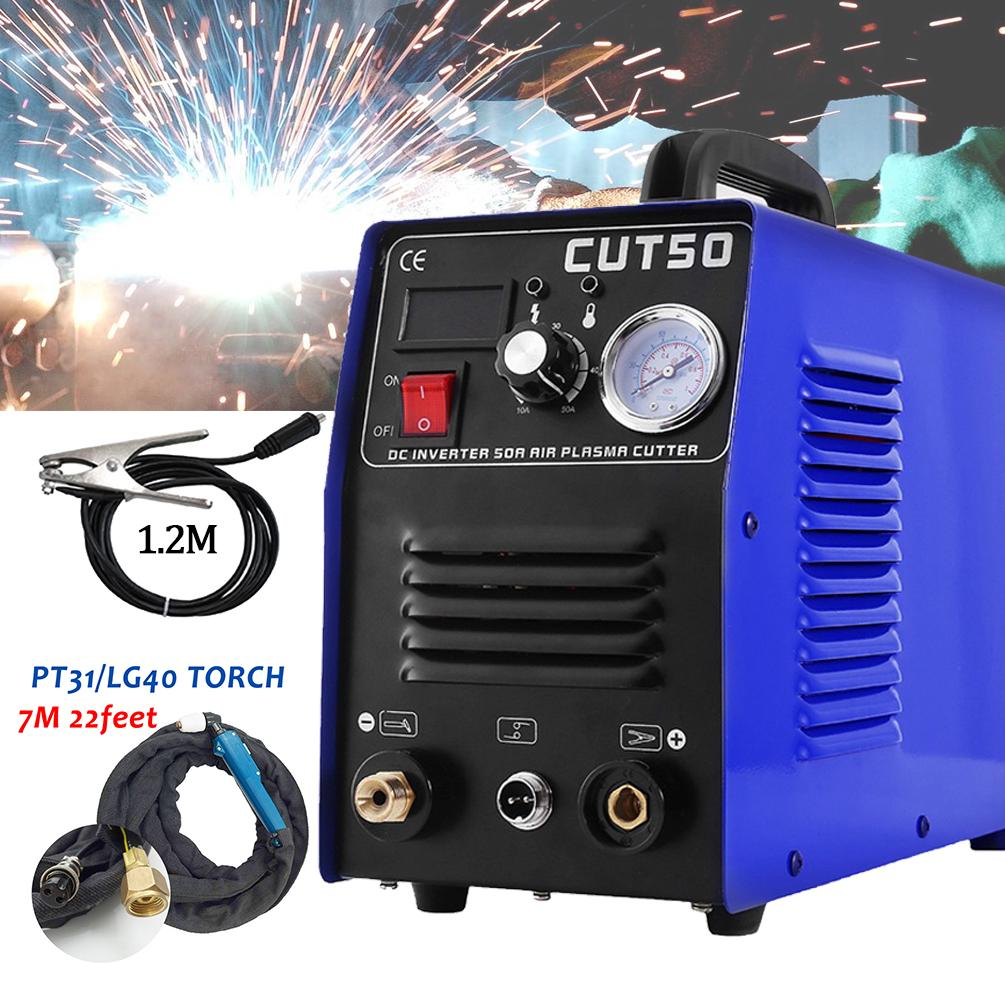 CUT 50 Plasma Cutter Pilot Arc 50A CNC Plasma Cutter 110//220V 1-14mm cutting