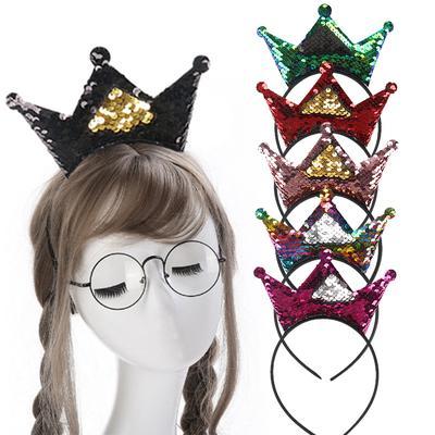 Kids Fashion Tiara Bow Knot Girls Pearl Crystal Hairband Rhinestone Headband