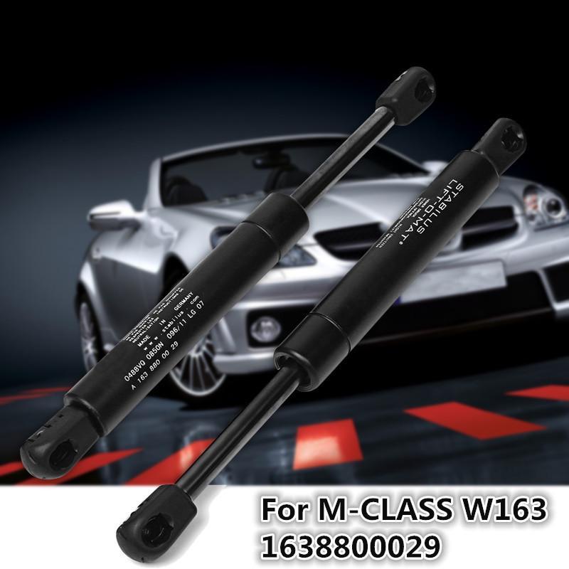 2 x Gas springs FOR Mercedes ML M class W163 Bonnet 1638800029 NEW
