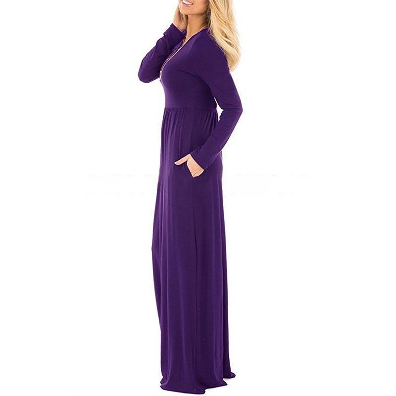 Vistoso Vestido De La Dama Azul Marino Tripulación J Composición ...