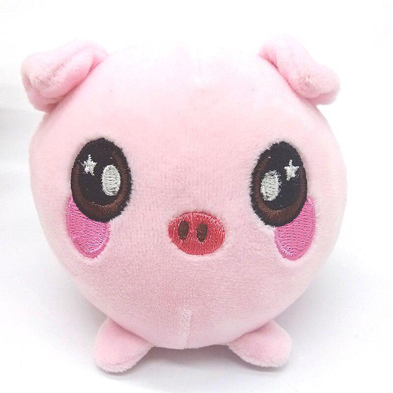 Children Plush Toys Vent Squishy Slow Rebound Animal Pig Plush Toys Warm Hand PU Squeeze Gifts