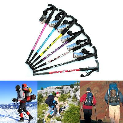 1pc hiking pole replacement tips trekking protector walking stick head protec#E