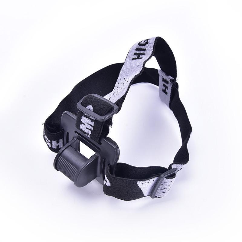 1pc Elastic Headband Helmet Strap Mount Head Strap For Bike light Headlamp Band\