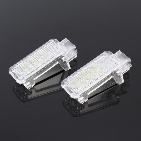Luce di benvenuto portiera 2 PCS DC12V 2.6W Porta luce di marchio dellautomobile Ombra luci di cortesia di marca della lampada for Subaru