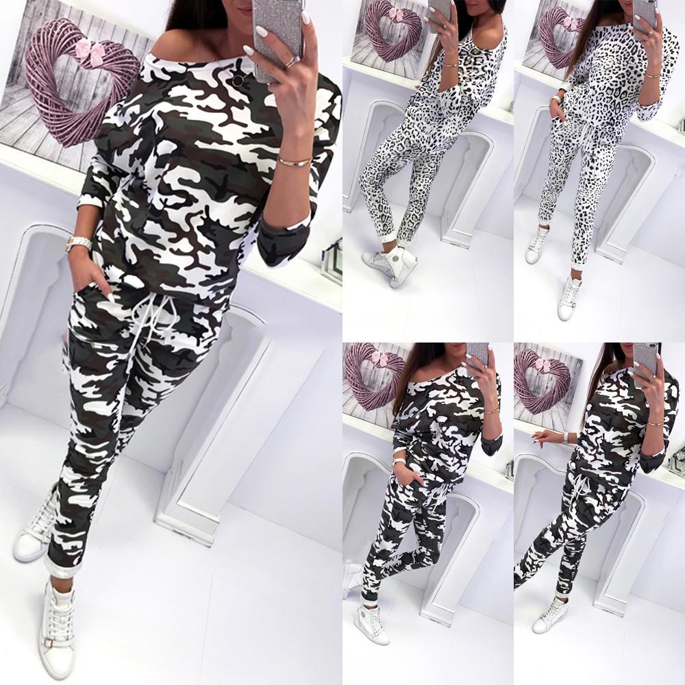 Womens Hooded Tracksuits Set Lounge Wear Ladies Tops Pants Lounge Wear Plus Size