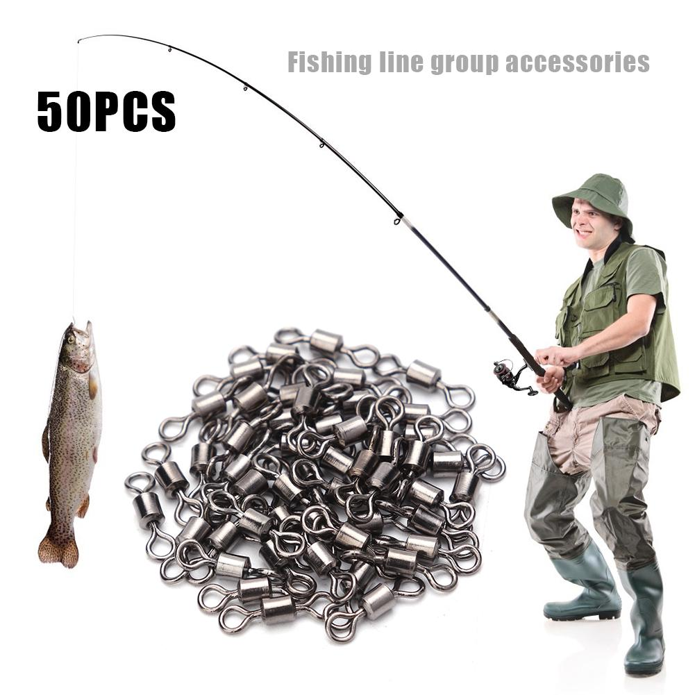 Swivel fishing casting fishing carp Trout with Bearing Rolling