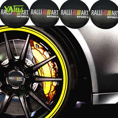 4pcs Car Auto Caps Case Wheel Air Tire Valve Fits For Mitsubishi Ralli Art