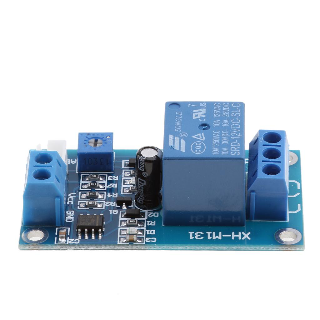 MagiDeal 12V Light Control Switch Photoresistor Relay Module Detection Sensor XH-M131