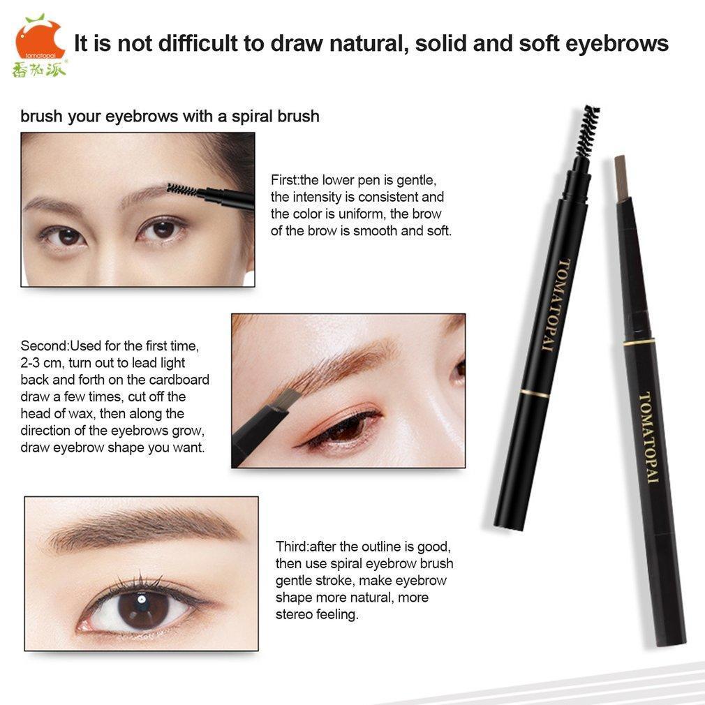 Tomatopai Brand Tomato Pie 03g Natural Women Eyebrow Pen Pencil