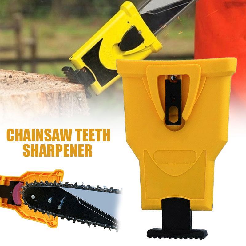 Chainsaw Teeth Sharpener PowerSharp Bar-Mount Saw Chain Sharpening System Tool
