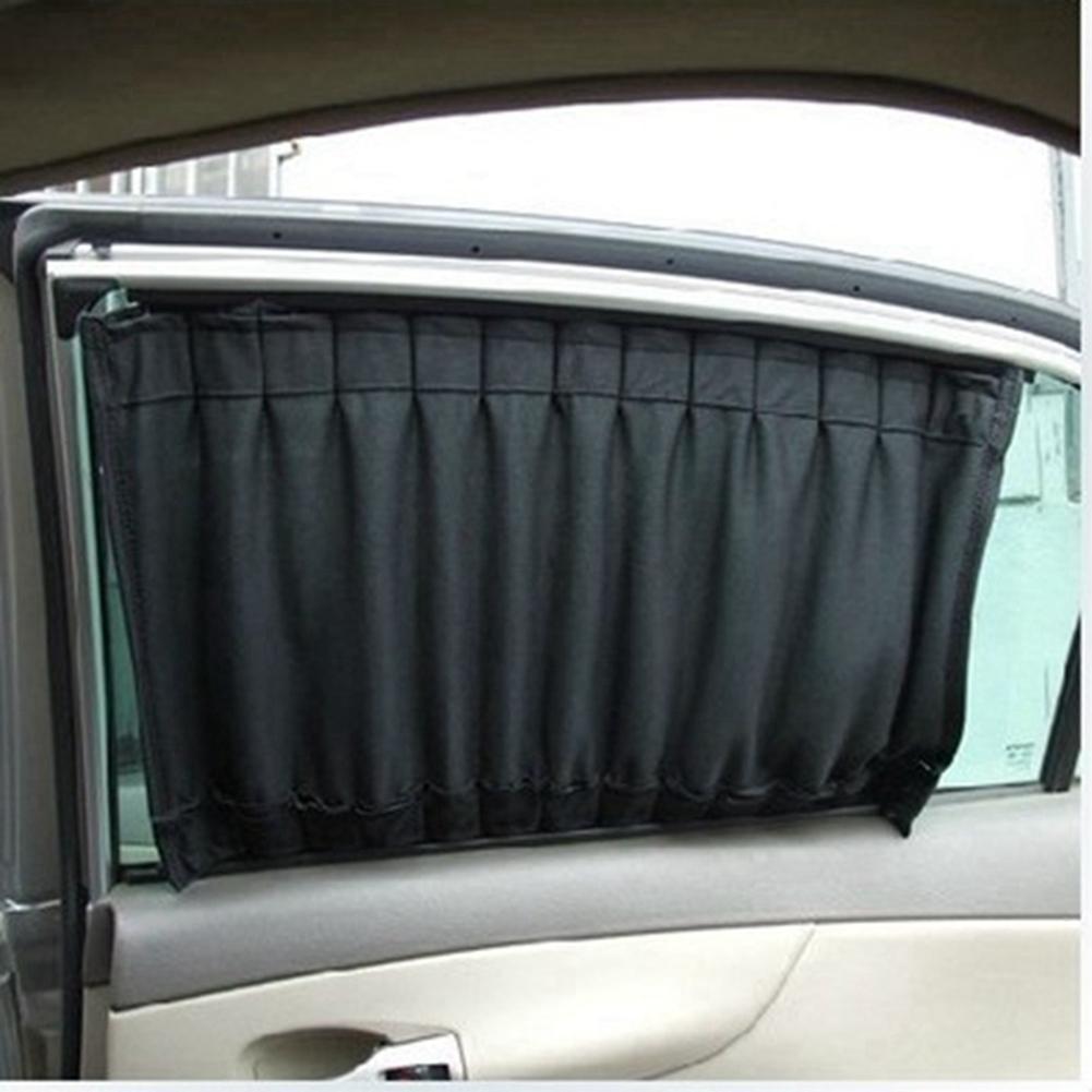 2X автомобиль Uv Защита Sun Shade Занавески Боковое окно Visor Сетка Крышка щит 50Cm