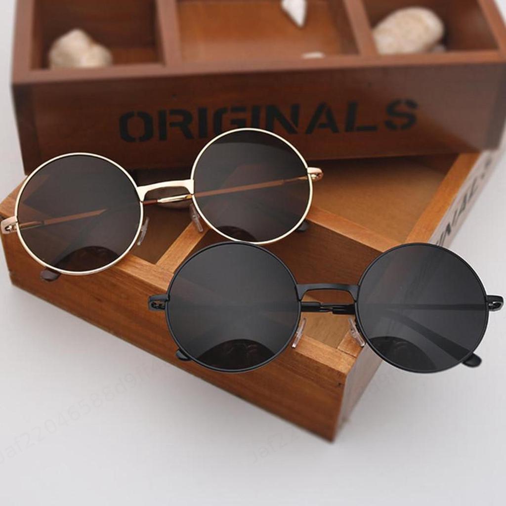 NWT Round Sunglasses Retro Cool Classic Fashion Style Men Women Frame RET102