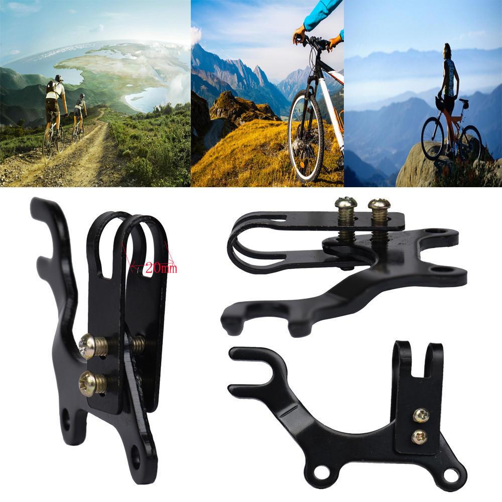 Adjustable Bike Disc V Brake Converter Mounting Holder Frame Adaptor 22mm
